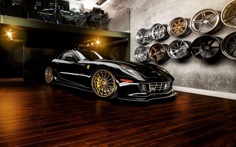 supercar wheels ferrari 599 gtb wallpaper