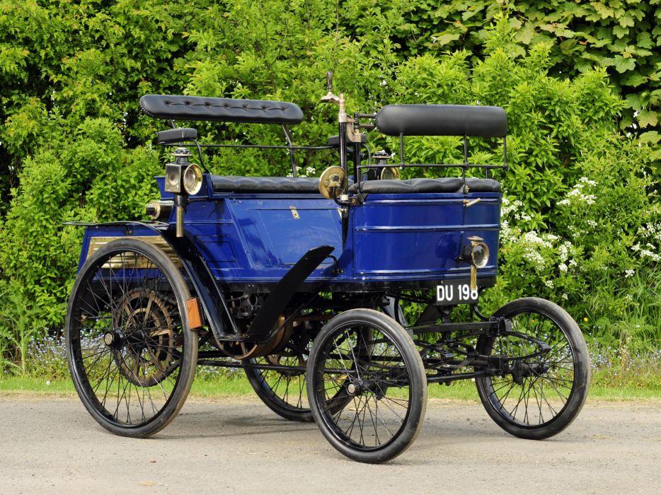 1899 Hurtu Quadricycle retro         f wallpaper