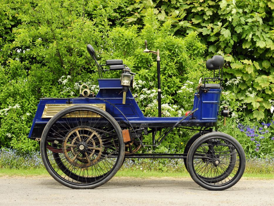 1899 Hurtu Quadricycle retro   t wallpaper