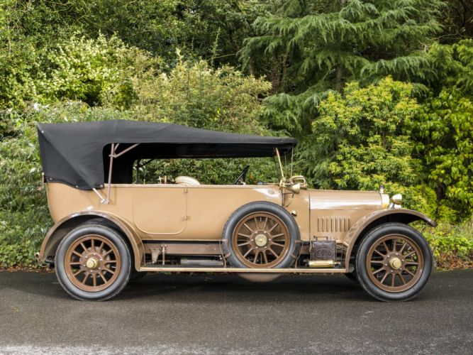 1919 Sunbeam 16-HP Tourer retro f wallpaper