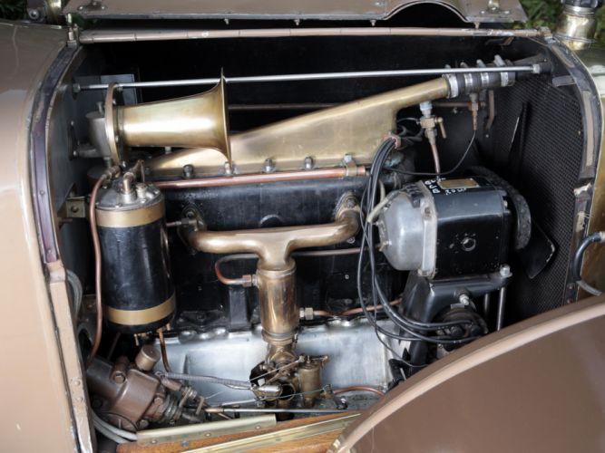 1919 Sunbeam 16-HP Tourer retro engine y wallpaper