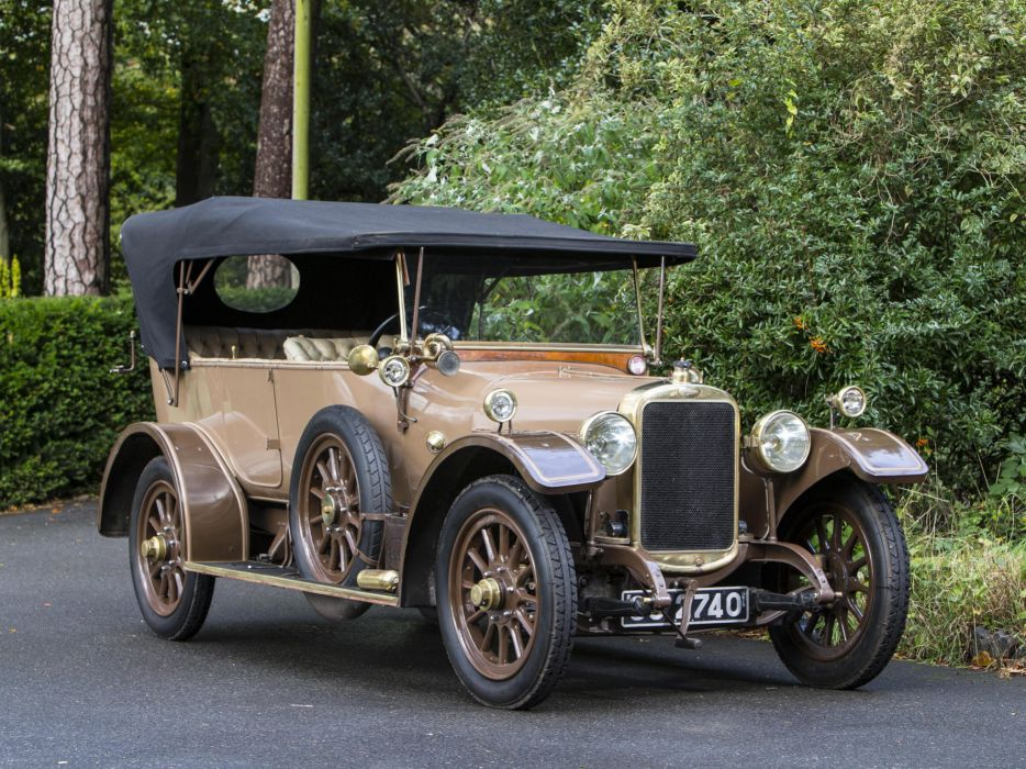 1919 Sunbeam 16-HP Tourer retro  ff wallpaper