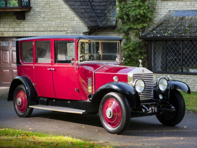 1927 Rolls Royce 20-HP Limousine Thrupp Maberly luxury retro g wallpaper