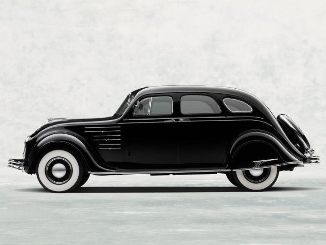 1934 Chrysler Airflow retro f wallpaper