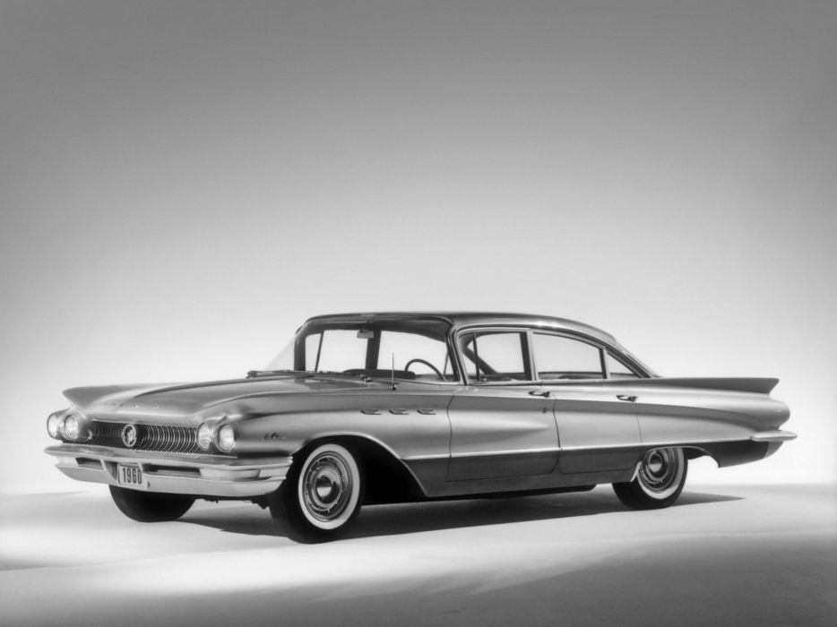 1960 Buick LeSabre 4-door Sedan (4419) classic       f wallpaper
