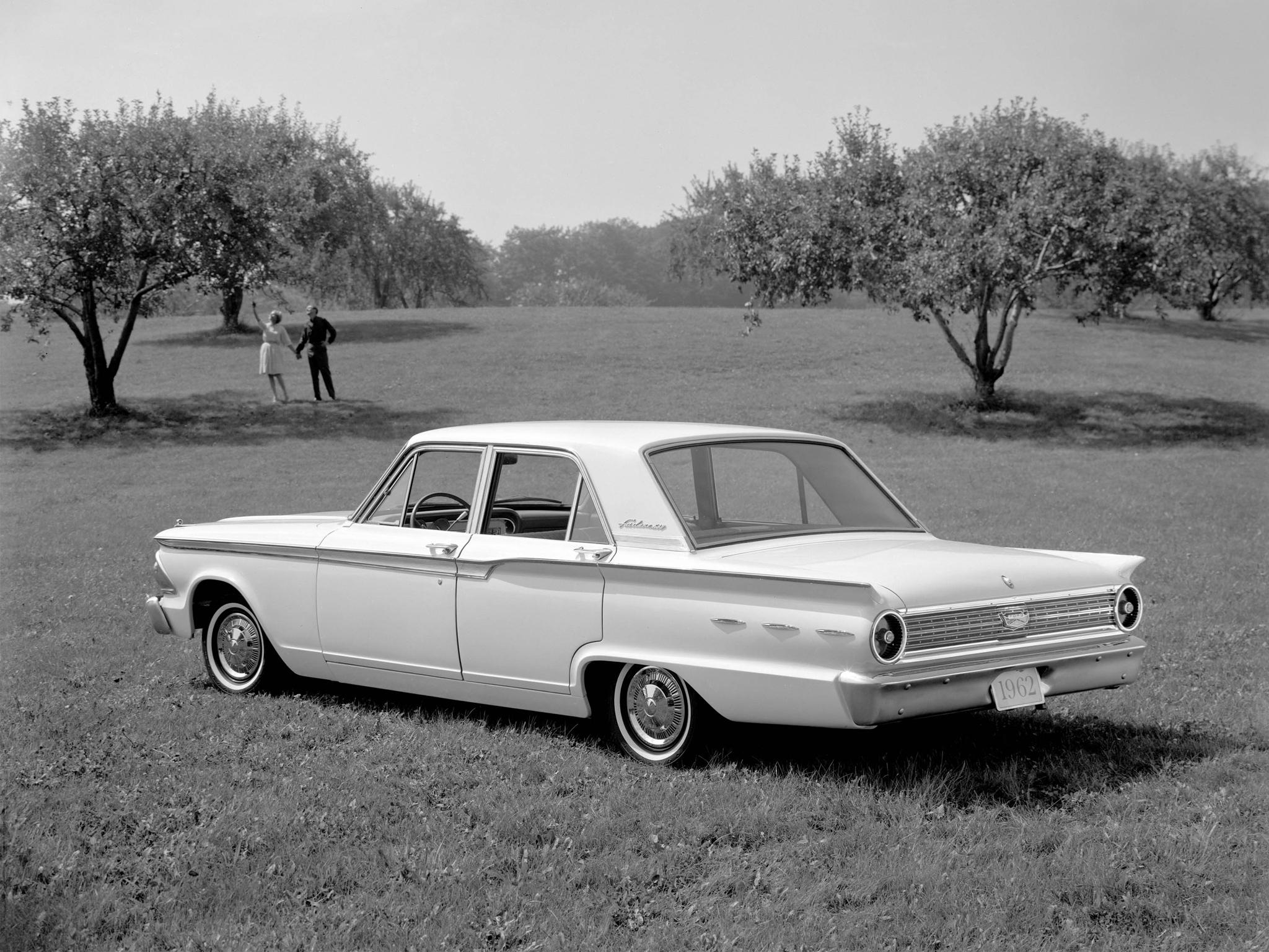 1962 Ford Fairlane 500 4 Door Town Sedan 2 Classic G Wallpaper