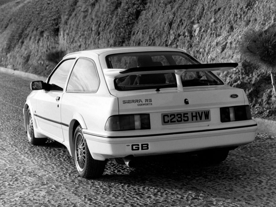 1968 Ford Sierra RS Cosworth UK-spec r-s   f wallpaper