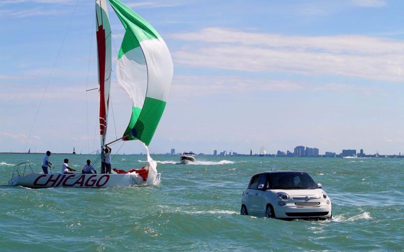 2013 Fiat 500 Personal Watercraft boat rw wallpaper