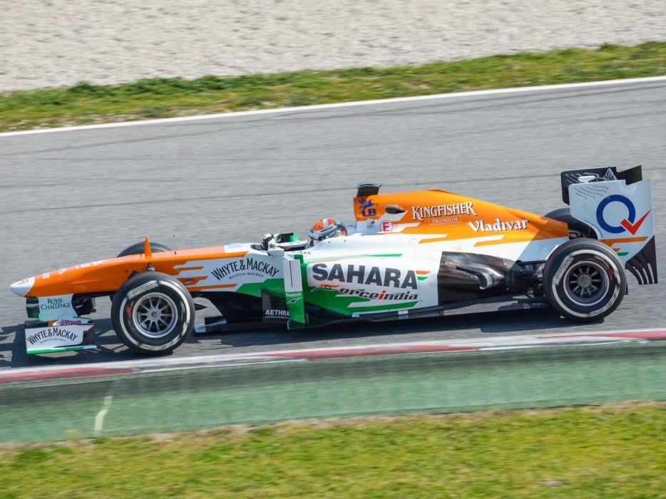 2013 Force India VJM06 formula f-1 race racing    g wallpaper