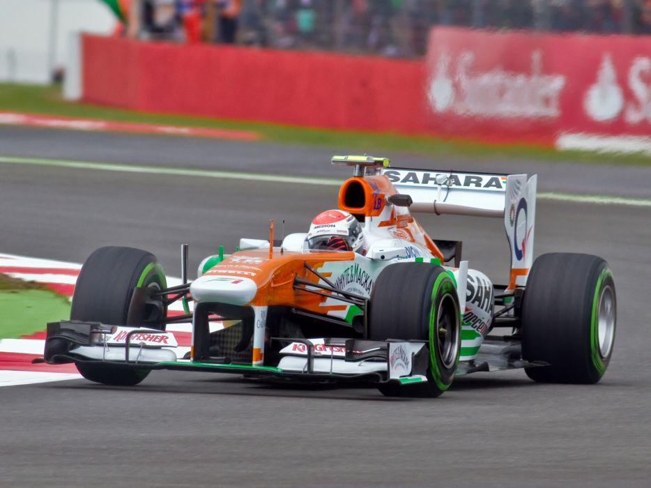 2013 Force India VJM06 formula f-1 race racing   e wallpaper