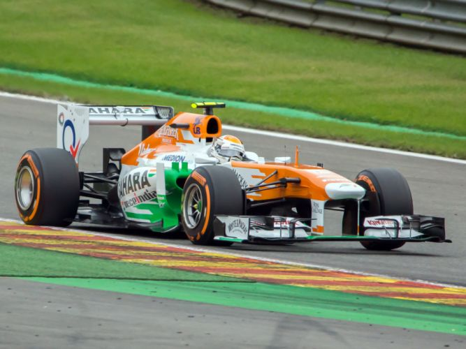 2013 Force India VJM06 formula f-1 race racing e wallpaper