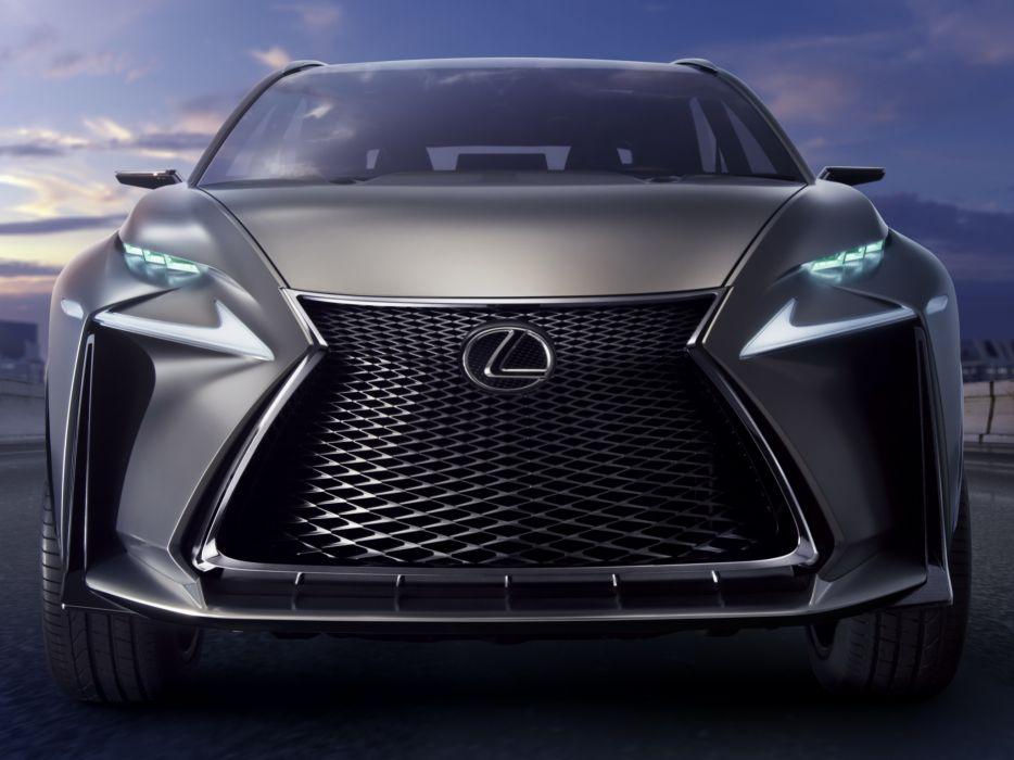 2013 Lexus LF-NX Turbo Concept   f wallpaper