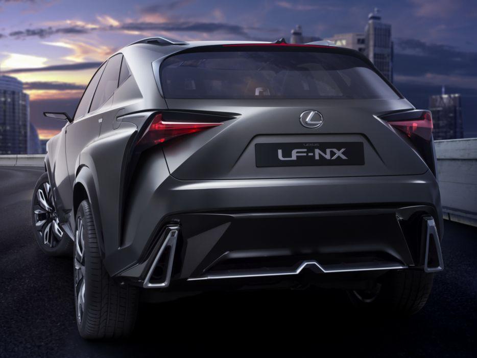 2013 Lexus LF-NX Turbo Concept   g wallpaper