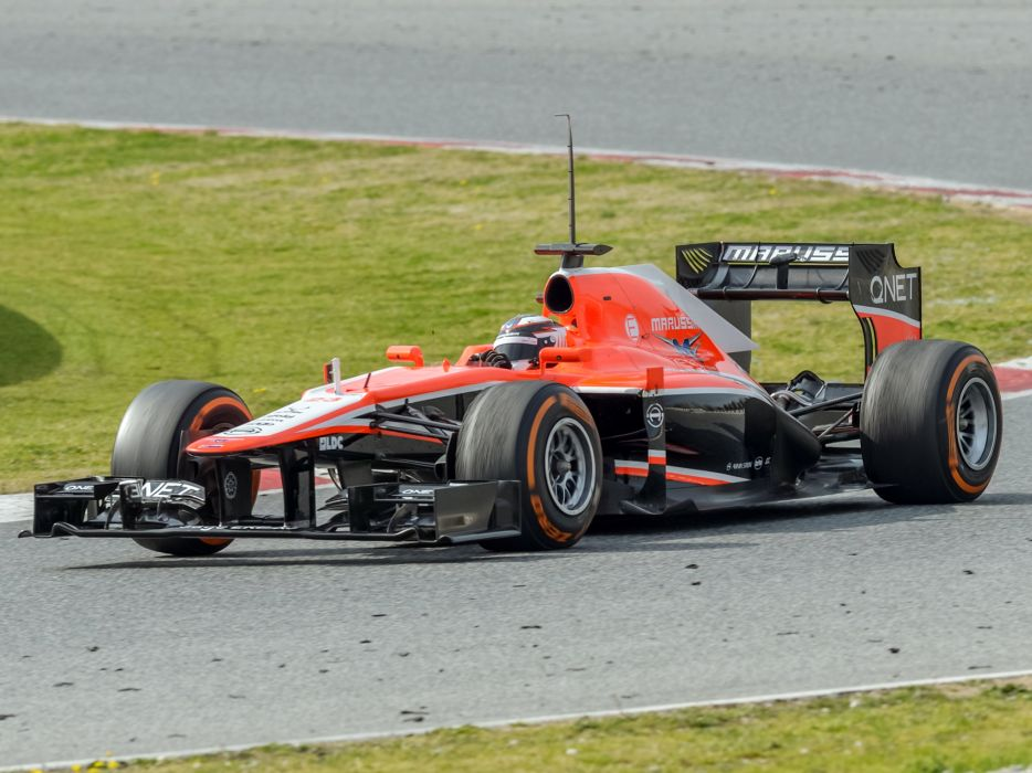 2013 Marussia MR02 formula race racing f-1    g wallpaper