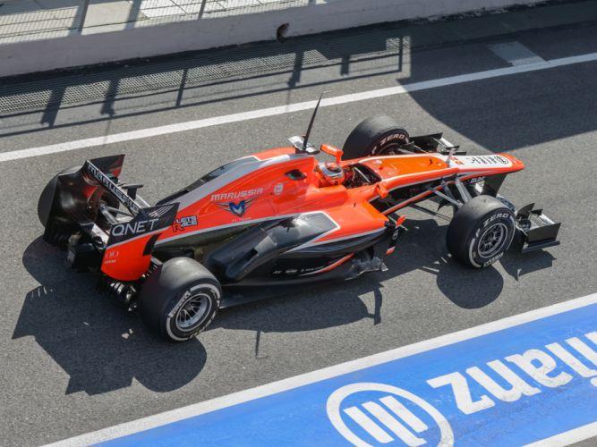 2013 Marussia MR02 formula race racing f-1 g wallpaper