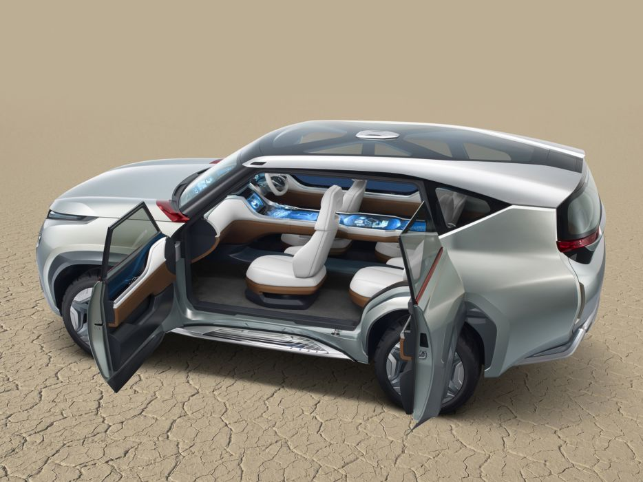 2013 Mitsubishi Concept GC-PHEV suv interior         g wallpaper