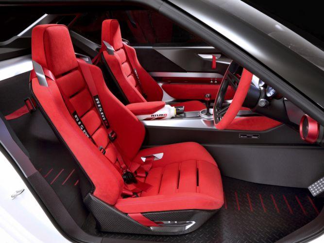 2013 Nissan IDx Nismo Concept race rascing interior t wallpaper