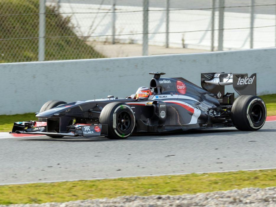 2013 Sauber C32 Formula race racing f-1   g wallpaper