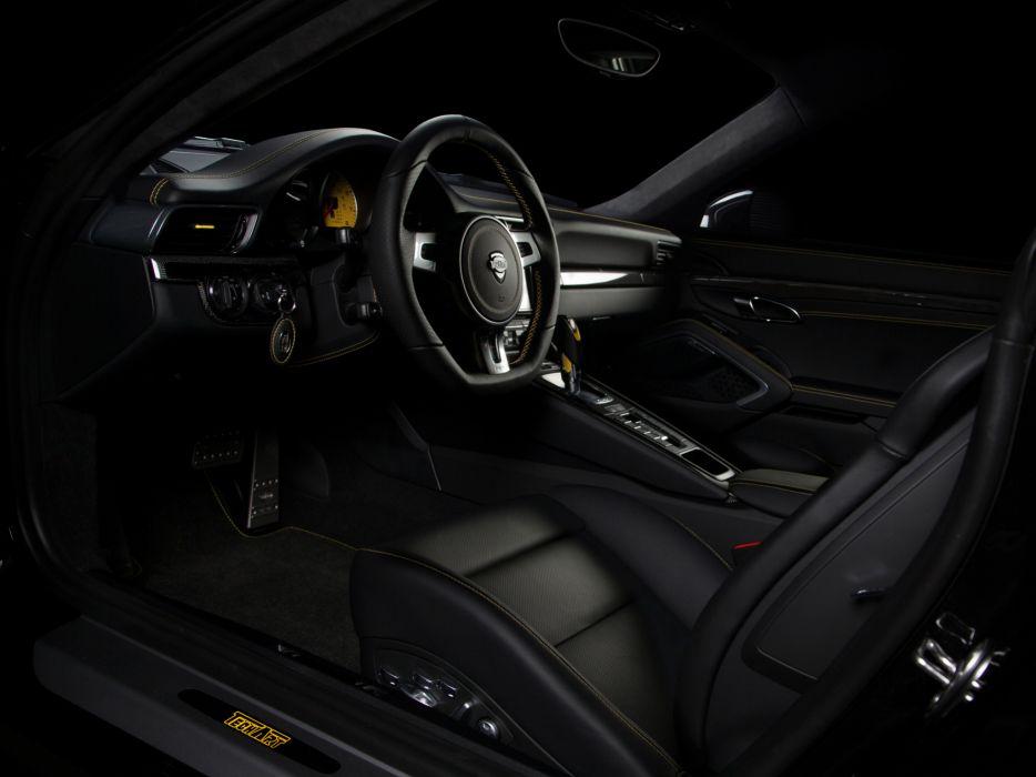 2013 TechArt Porsche 911 Turbo (991) interior   f wallpaper