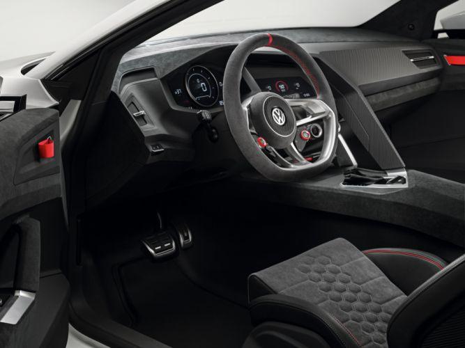 2013 Volkswagen Design Vision GTI Concept interior r wallpaper