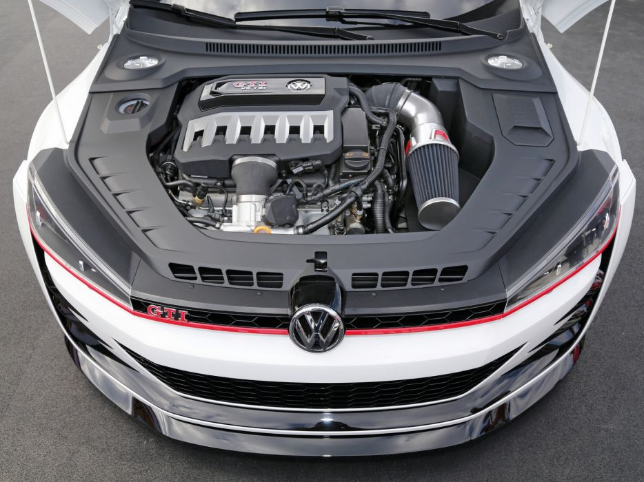 2013 Volkswagen Design Vision GTI Concept engine         g wallpaper