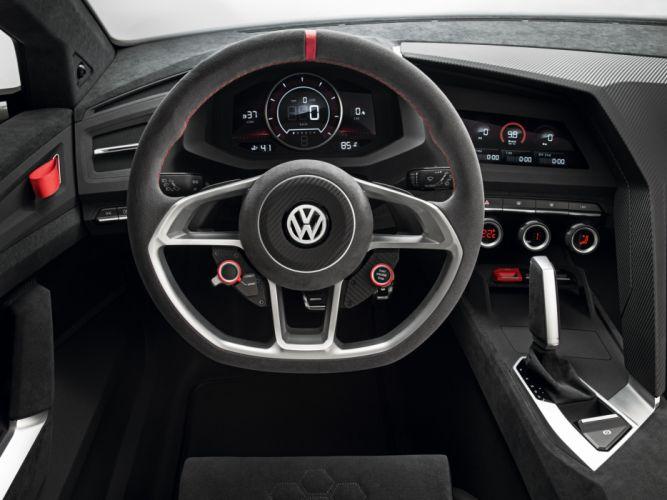 2013 Volkswagen Design Vision GTI Concept interior f wallpaper
