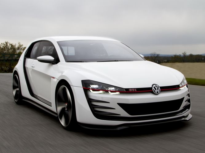2013 Volkswagen Design Vision GTI Concept re wallpaper