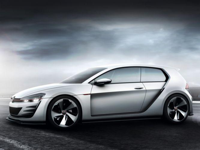 2013 Volkswagen Design Vision GTI Concept f wallpaper
