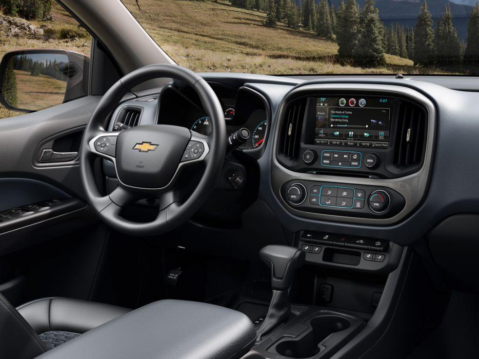 2014 Chevrolet Colorado Z71 Double Cab pickup interior        g wallpaper