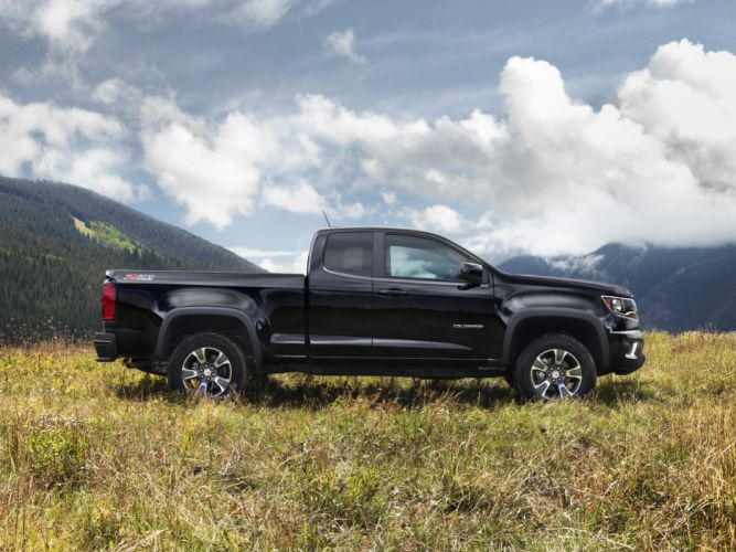 2014 Chevrolet Colorado Z71 Extended Cab pickup 4x4 g wallpaper