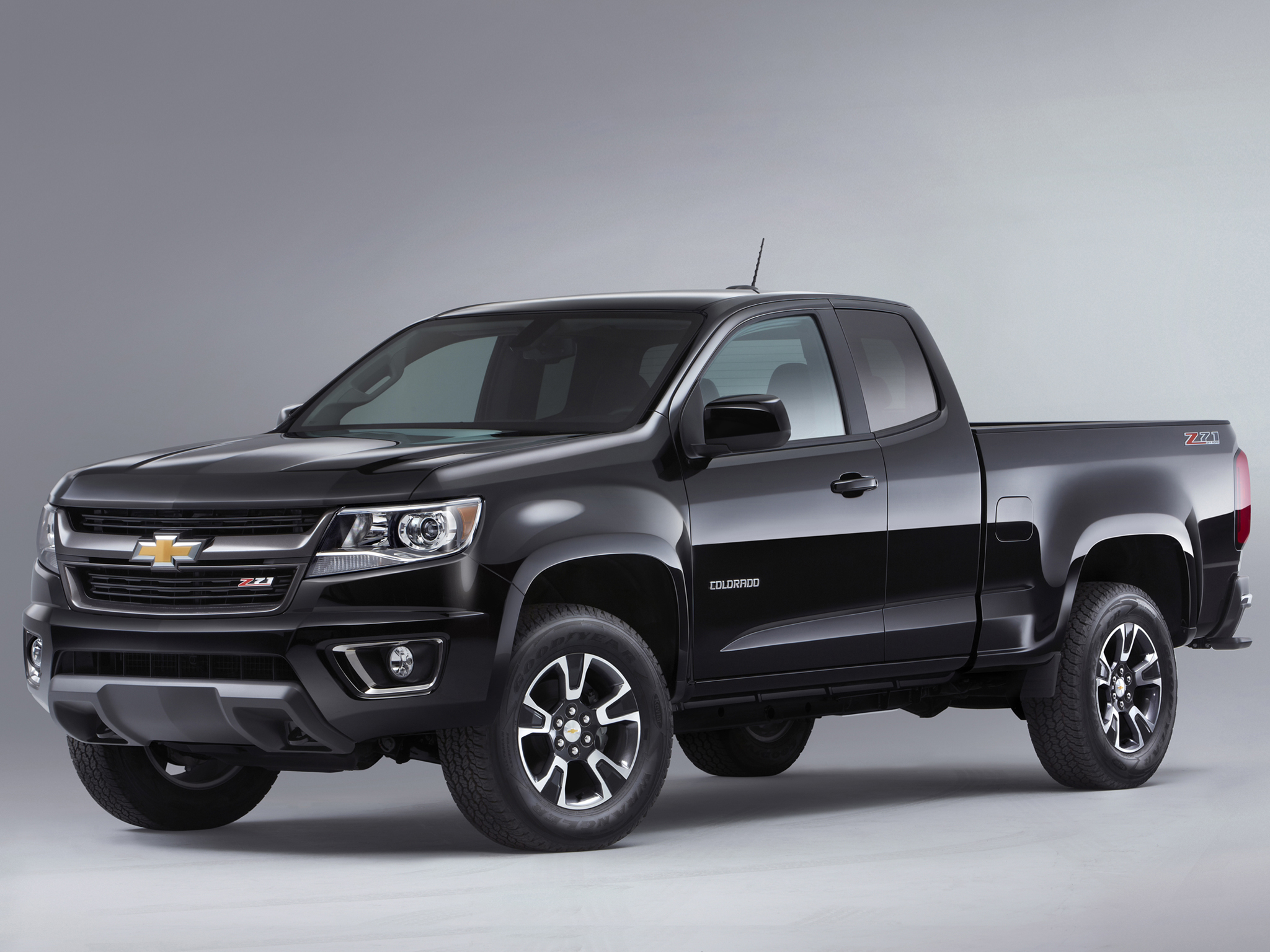 2014 Chevrolet Colorado Z71 Extended Cab pickup 4x4 t wallpaper