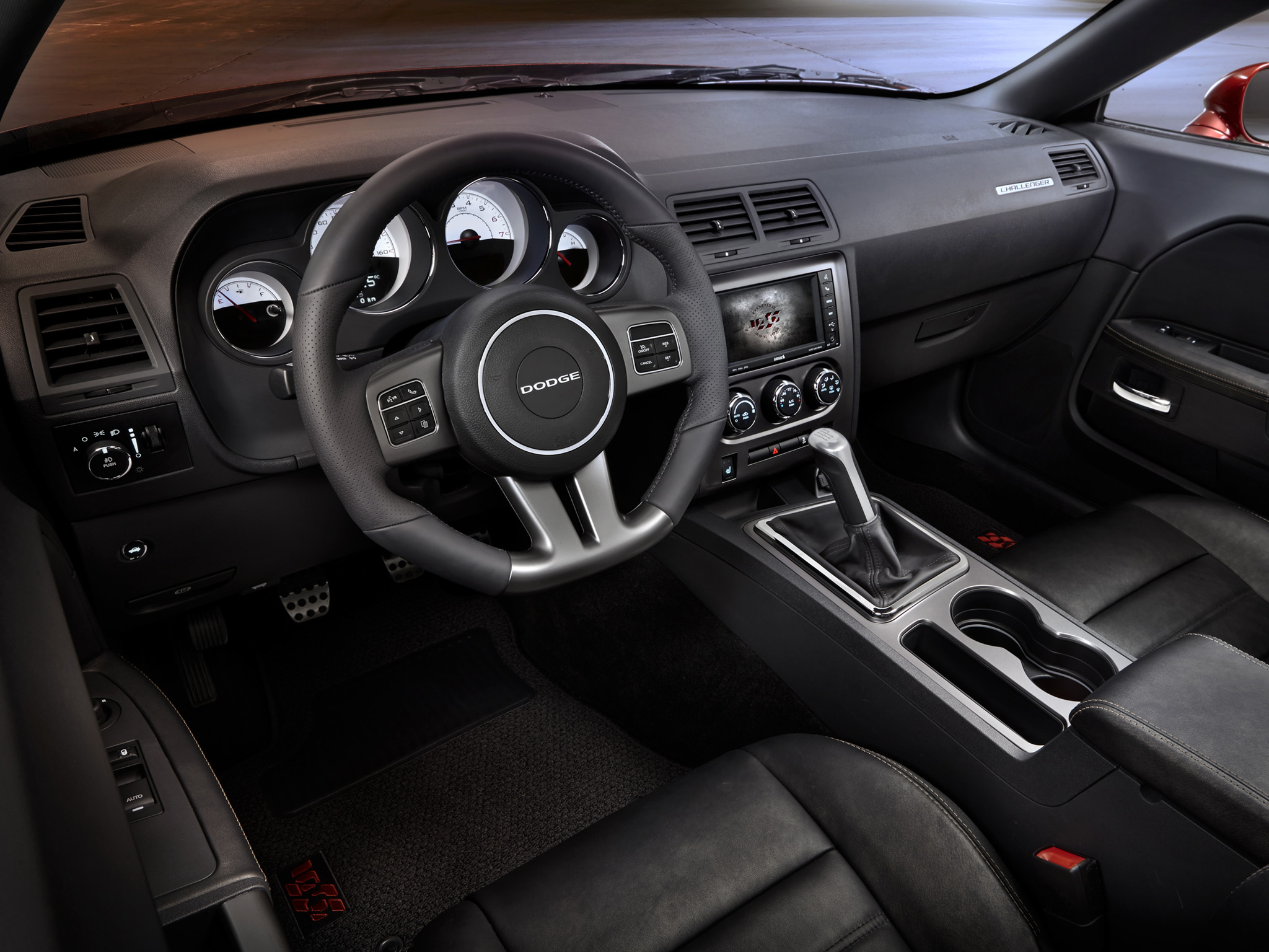 2014 Dodge Challenger RT Muscle R T Interior H Wallpaper