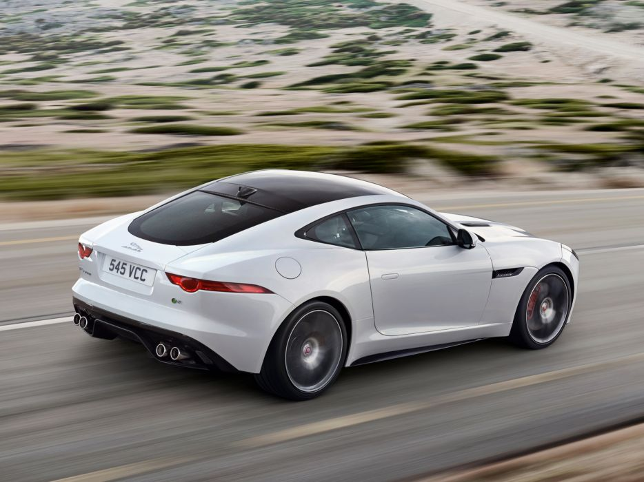 2014 Jaguar F Type R Coupe B Wallpaper