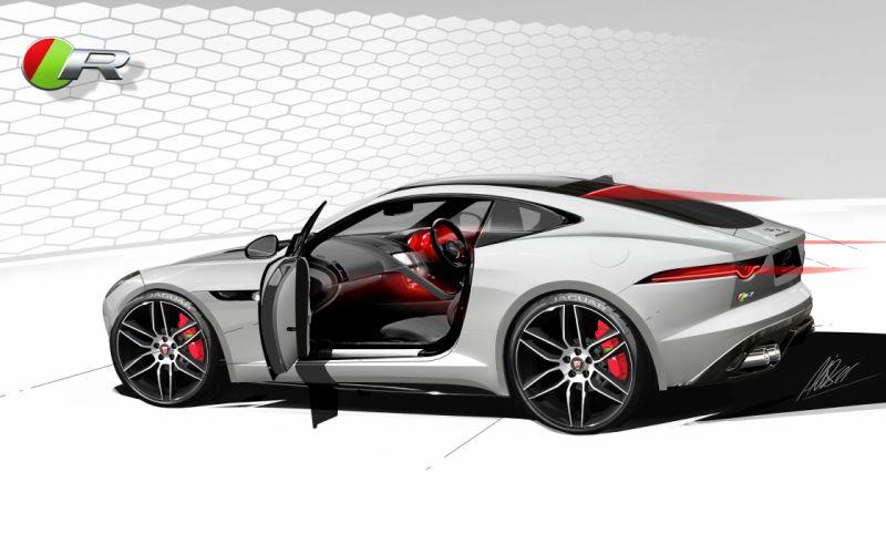 2014 Jaguar F-Type R Coupe f wallpaper
