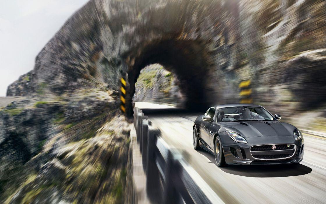 2014 Jaguar F-Type R Coupe  d wallpaper