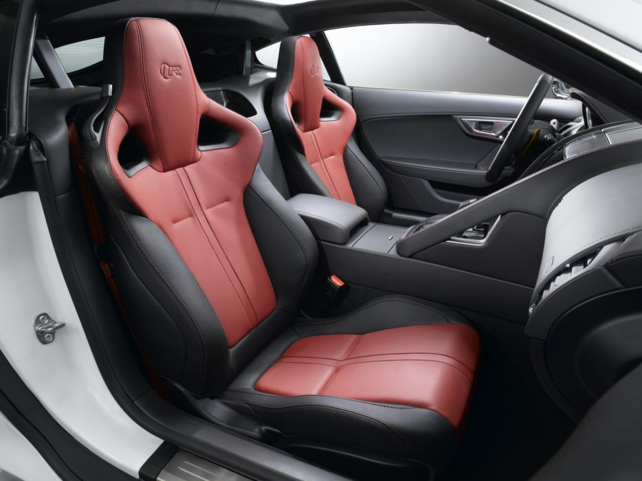 2014 Jaguar F-Type R Coupe interior      f wallpaper