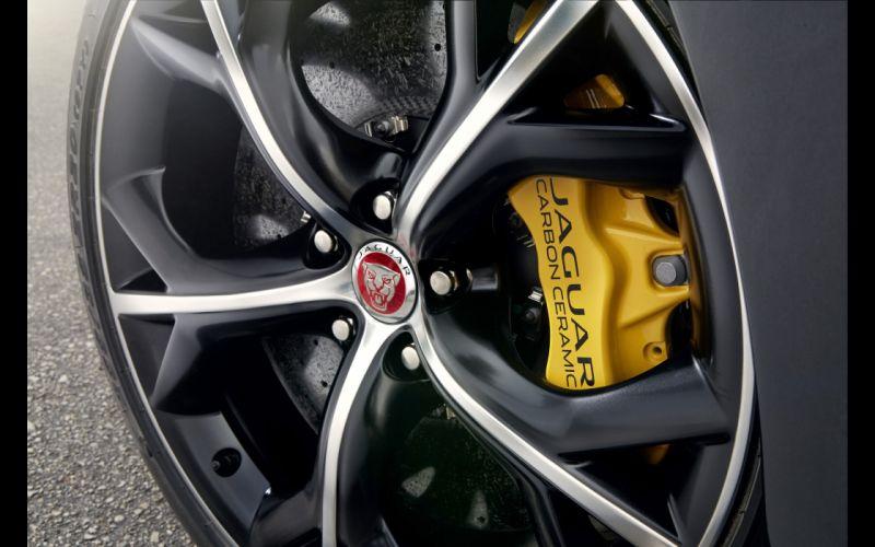 2014 Jaguar F-Type R Coupe wheel f wallpaper