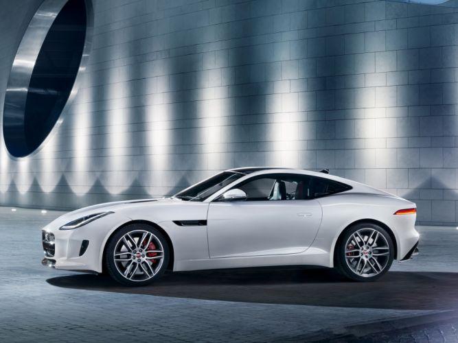 2014 Jaguar F-Type R Coupe fs wallpaper