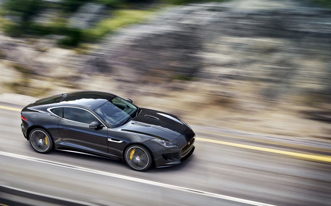2014 Jaguar F-Type R Coupe  d wallpaper