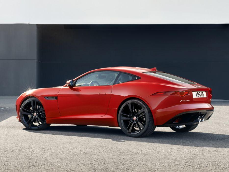 2014 Jaguar F-Type S Coupe   hs wallpaper
