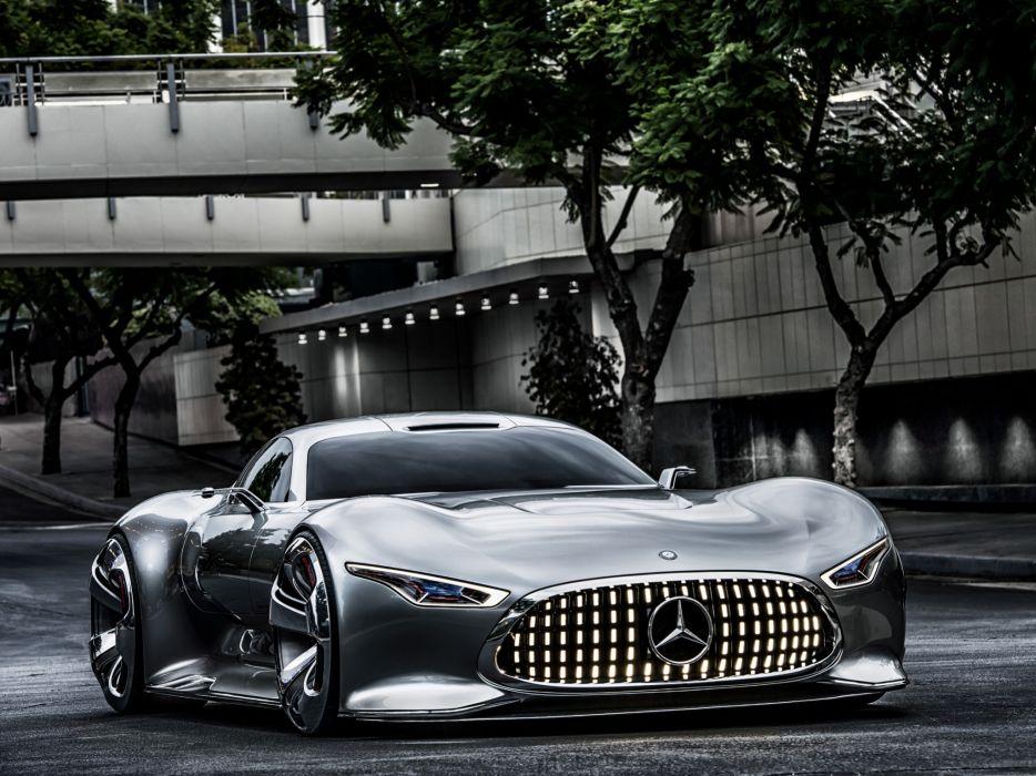 2014 Mercedes Benz AMG Vision Gran Turismo Concept supercar   hf wallpaper