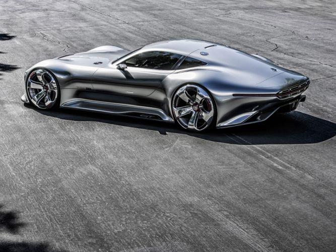 2014 Mercedes Benz AMG Vision Gran Turismo Concept supercar h wallpaper