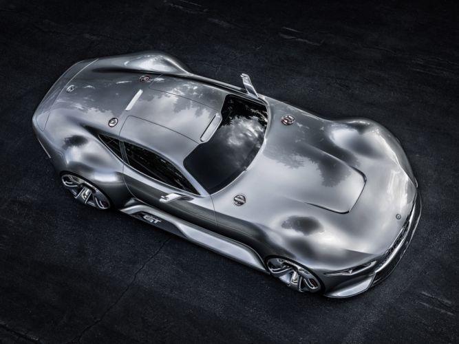 2014 Mercedes Benz AMG Vision Gran Turismo Concept supercar hd wallpaper