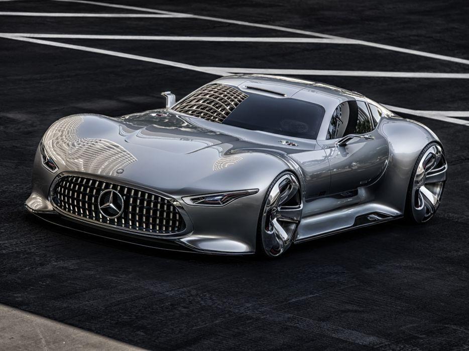 2014 Mercedes Benz AMG Vision Gran Turismo Concept supercar  g wallpaper