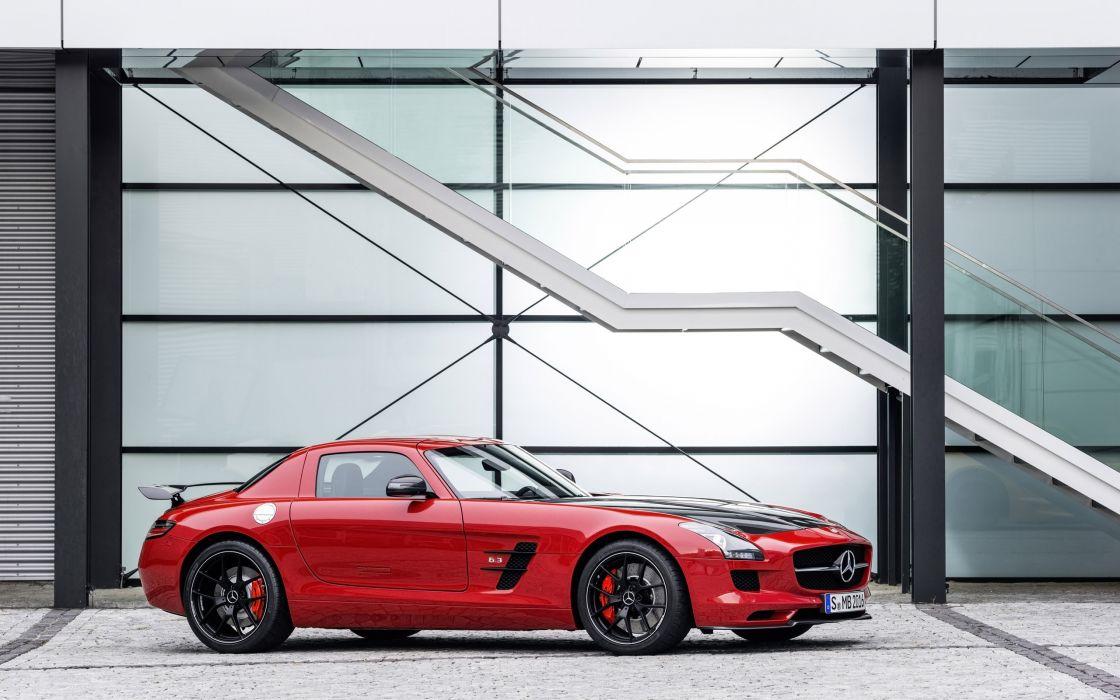 2014 Mercedes Benz SLS 63 AMG GT (C197) supercar     f wallpaper