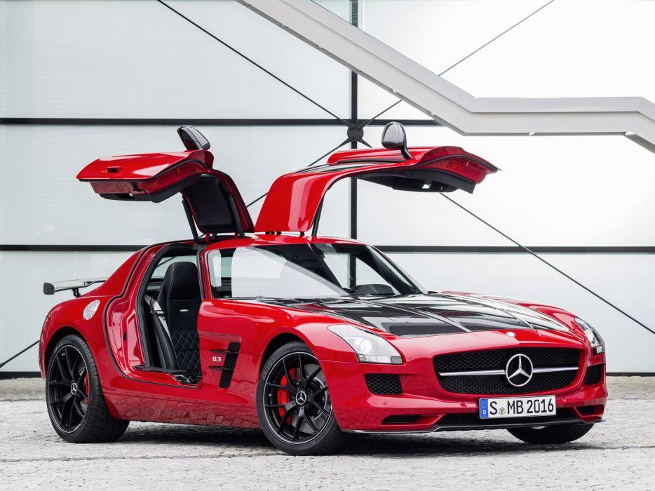 2014 Mercedes Benz SLS 63 AMG GT (C197) supercar    r wallpaper