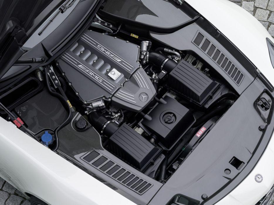 2014 Mercedes Benz SLS 63 AMG GT Roadster (R197) supercar g-t 6-3 engine    g wallpaper