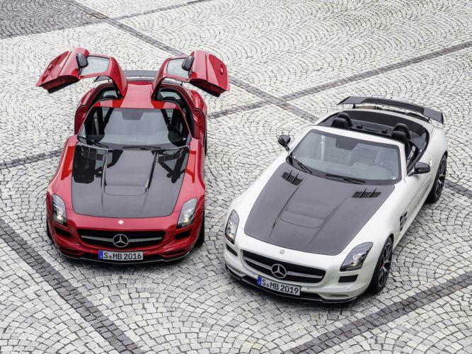 2014 Mercedes Benz SLS AMG supercar g wallpaper