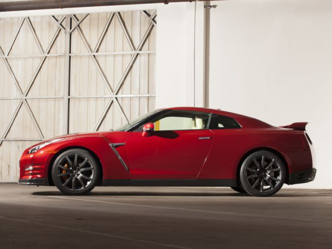 2014 Nissan GT-R US-spec (R35) supercar d wallpaper