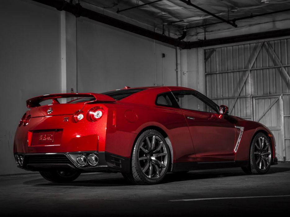 2014 Nissan GT-R US-spec (R35) supercar    g wallpaper
